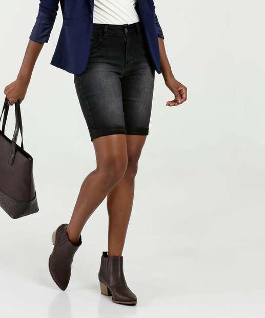 Image_Bermuda Feminina Jeans Cintura Média Marisa