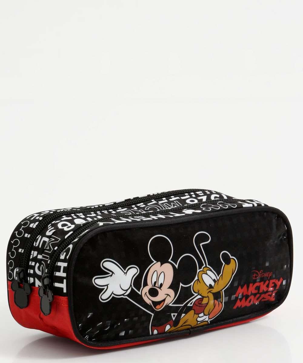 Estojo Escolar Infantil Estampa Mickey Xeryus