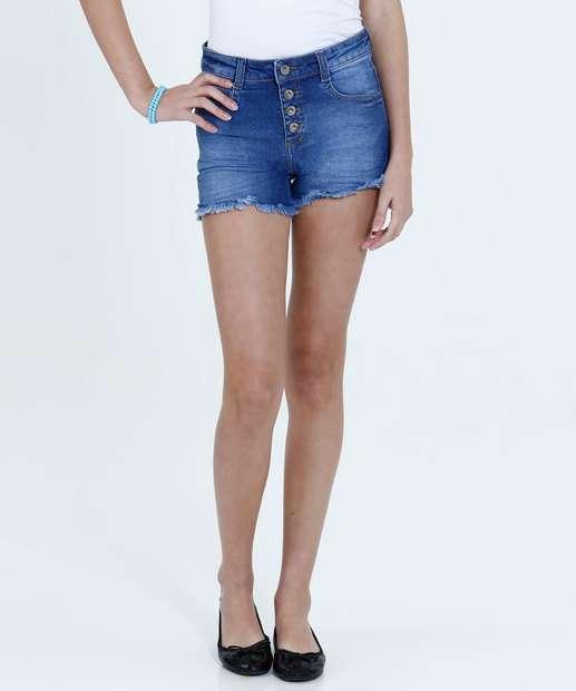 Image_Short Juvenil Jeans Desfiado Marisa