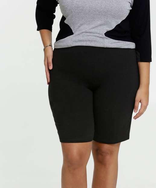 Image_Bermuda Feminina Básica Plus Size Marisa