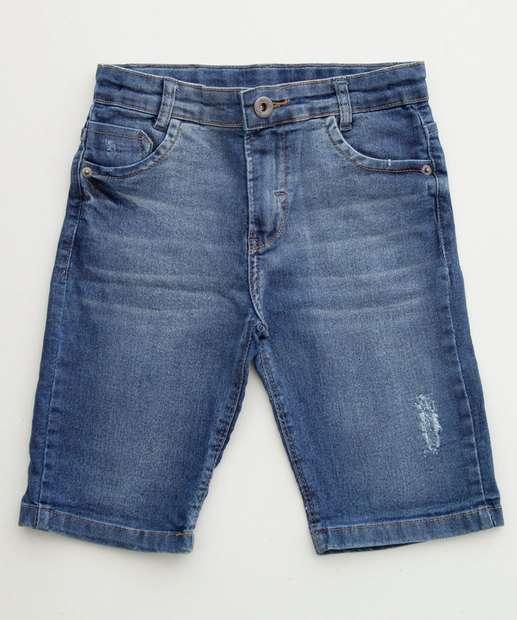 Image_Bermuda Infantil Jeans Bolsos
