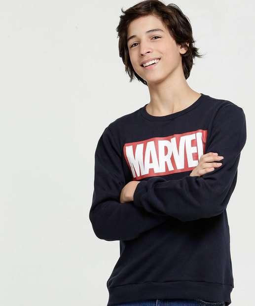 Image_Blusão Juvenil Moletom Estampa Frontal Marvel