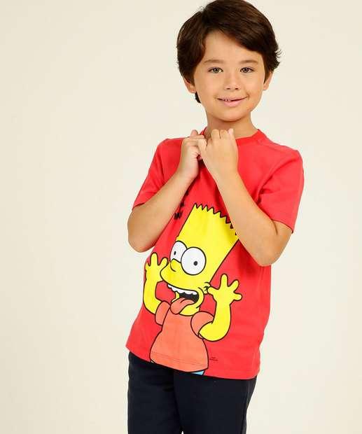Image_Camiseta Infantil Estampa Bart Simpsons Tam 4 a 10