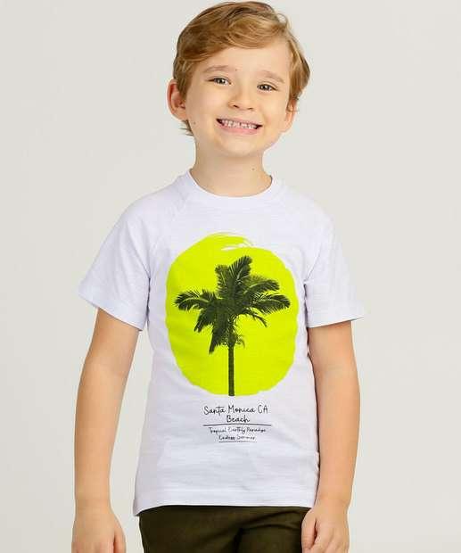 Image_Camiseta Infantil Manga Curta Estampa Coqueiro MR Tam 4 a 10