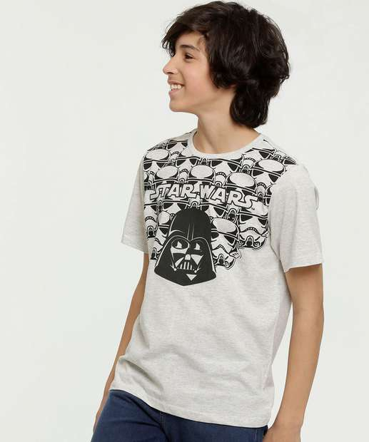 Image_Camiseta Juvenil Estampa Star Wars Disney