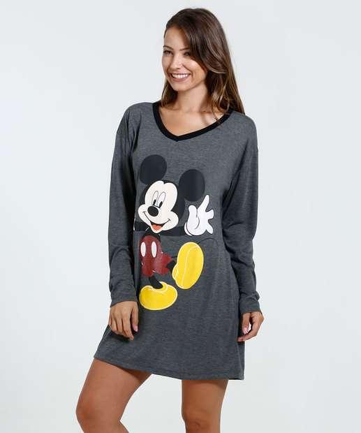 Image_Camisola Feminina Estampa Mickey Disney