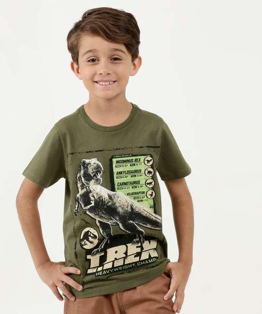 Image_ Camiseta Juvenil Estampa Jurassic World Universal