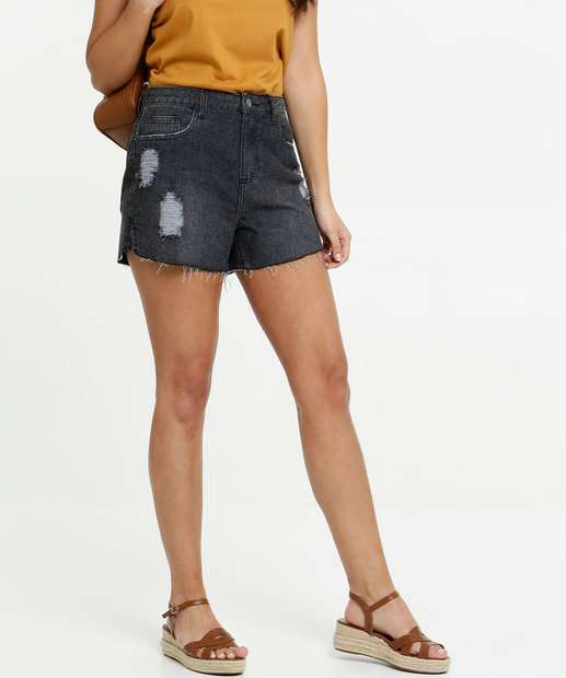 Image_Short Jeans Destroyed Feminino Marisa