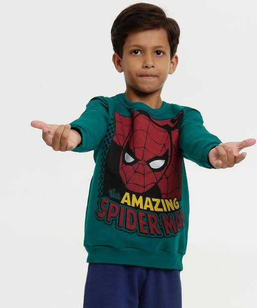 Image_Blusão Infantil Moletom Estampa Homem Aranha Marvel