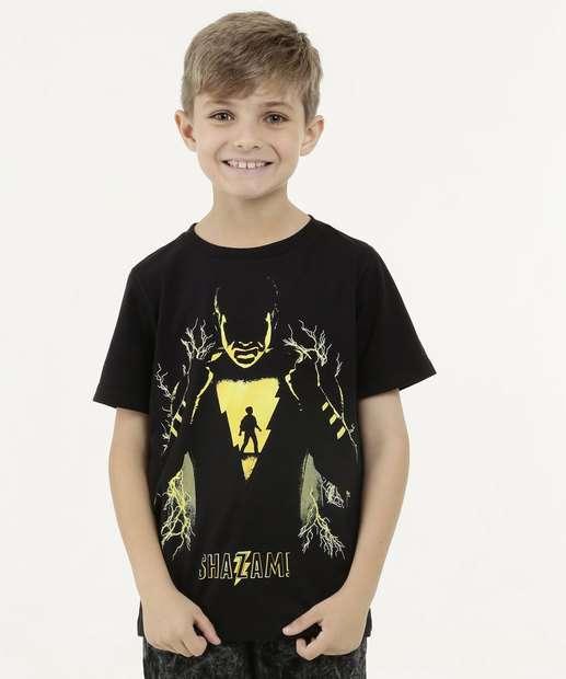 Image_Camiseta Infantil Shazan Manga Curta Warner Bros