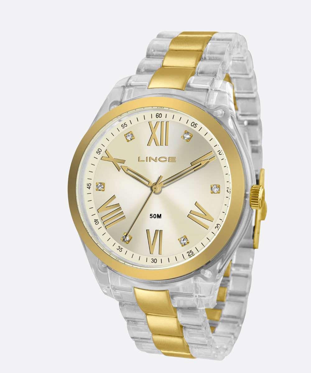 Relógio Feminino Strass Lince LRT4473P C3HK