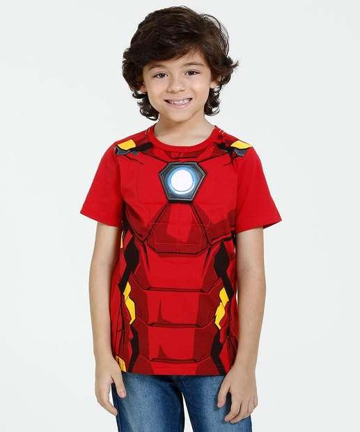 Image_Camiseta Infantil Manga Curta Marvel