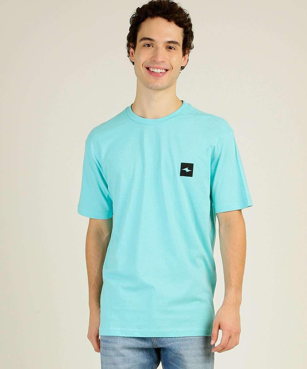 Camiseta Masculina Estampa Surf Manga Curta Nicoboco