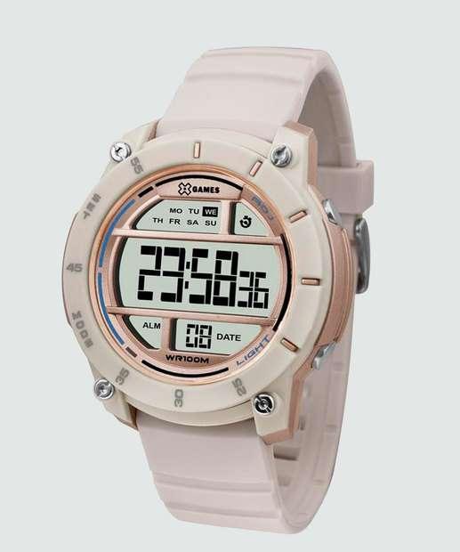 2427842ab02 Relógio Feminino Digital XGames XFPPD045 BXTX