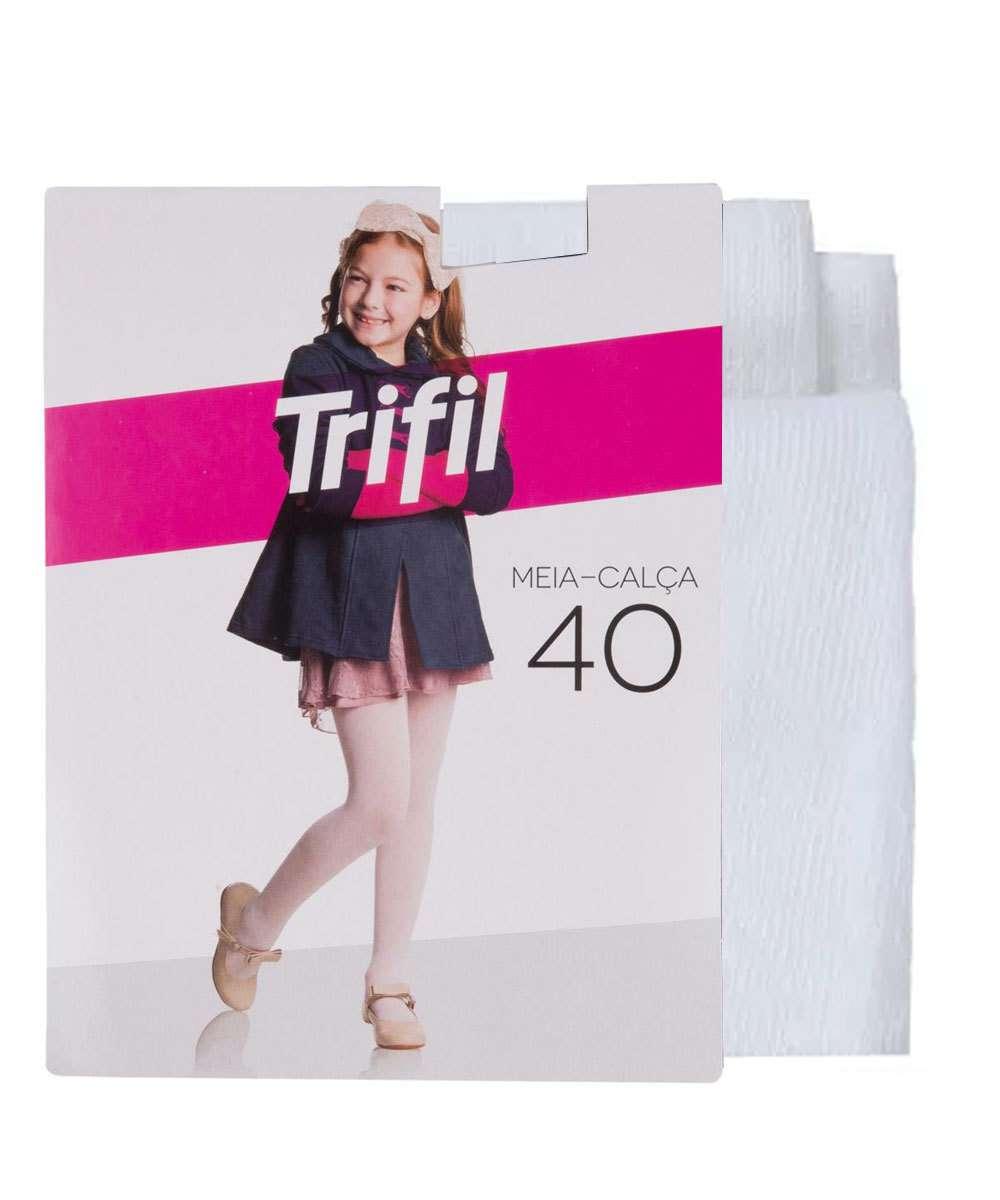 9a543d91f 1  2  3  4  5. Compartilhar. adicionar aos favoritos produto favoritado. Meia  Calça Infantil Branca Fio 40 Trifil