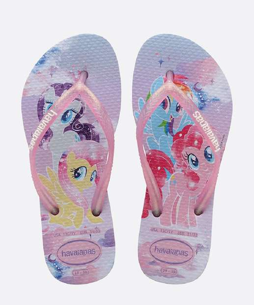 Image_Chinelo Havaianas Infantil My Little Pony