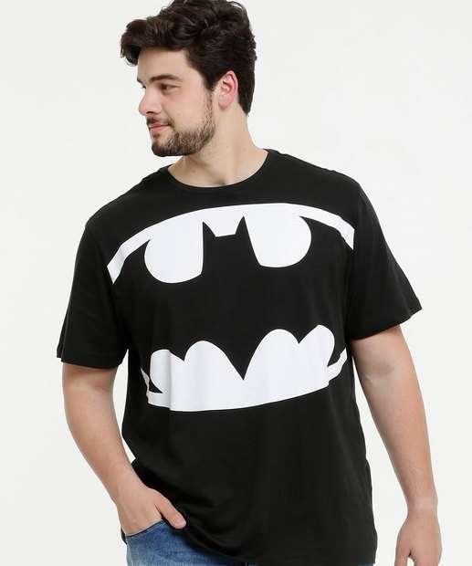 Image_Camiseta Masculina Estampa Batman Plus Size Warner