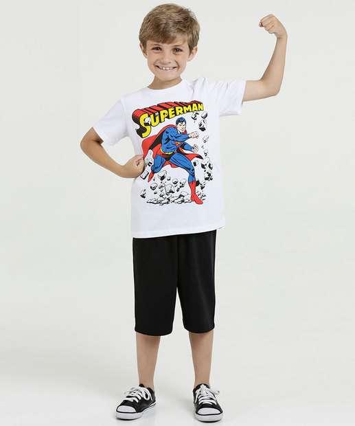 Image_Conjunto Infantil Estampa Super Homem Liga da Justiça