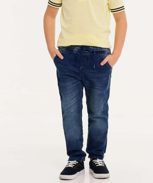 Image_Calça Infantil Jeans Tam 4 ao 8