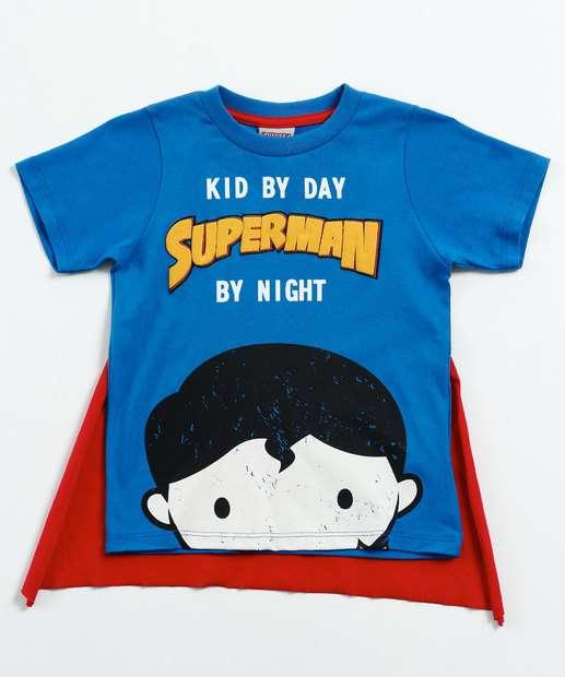 Image_Camiseta Infantil Super Homem Liga da justiça