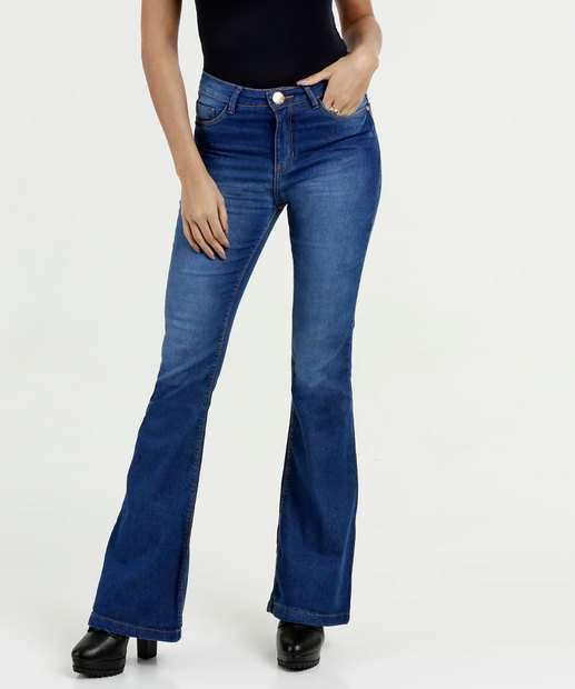 Image_Calça Feminina Jeans Flare Cintura Média Five Jeans