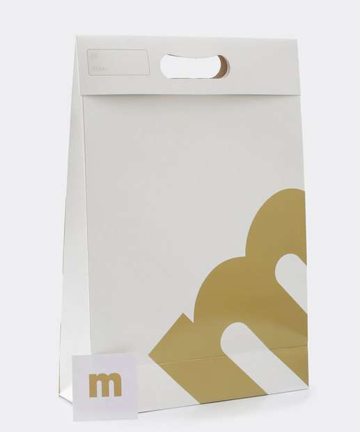 Image_Embalagem Presente Sacola Estampa Metalizada Marisa