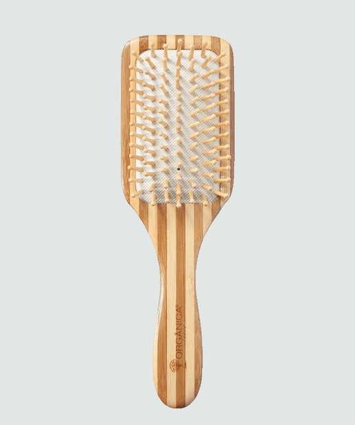 Image_Escova de Madeira Bambu Quadrada Orgânica