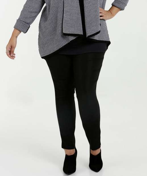 fa6d79ac0c Calça Feminina Bengaline Skinny Plus Size Marisa