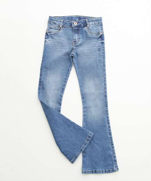 Image_Calça Infantil Jeans Stretch Flare