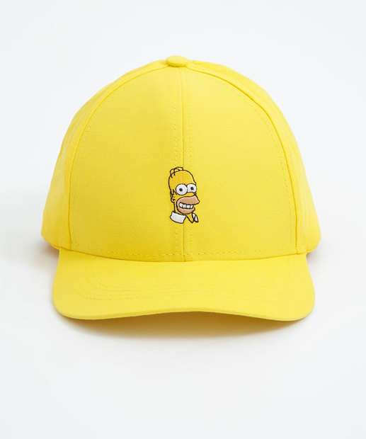 Image_Boné Masculino Bordado Homer Simpsons