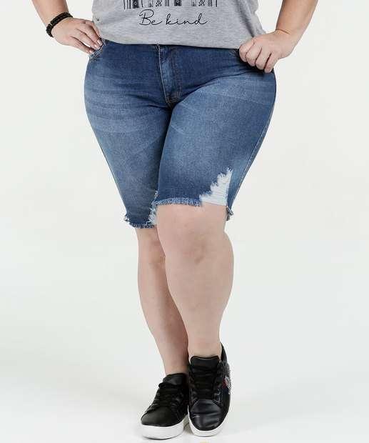 Image_Bermuda Feminina Jeans Cintura Alta Plus Size Biotipo