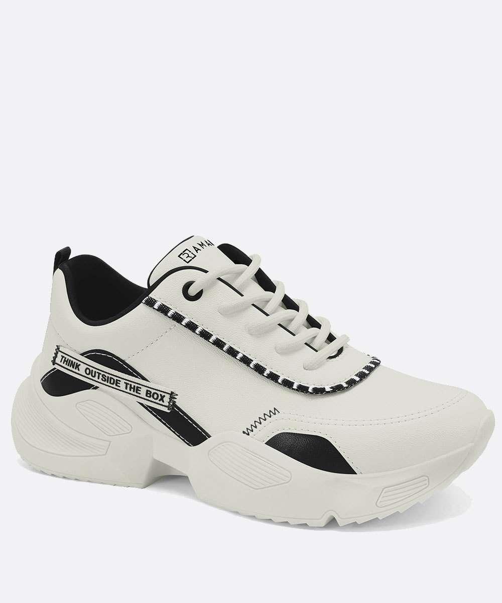 Tênis Feminino Chunky Sneaker Recorte Ramarim