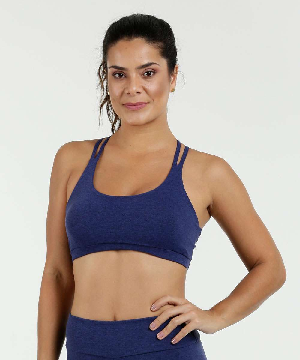 Top Feminino Fitness Strappy Marisa