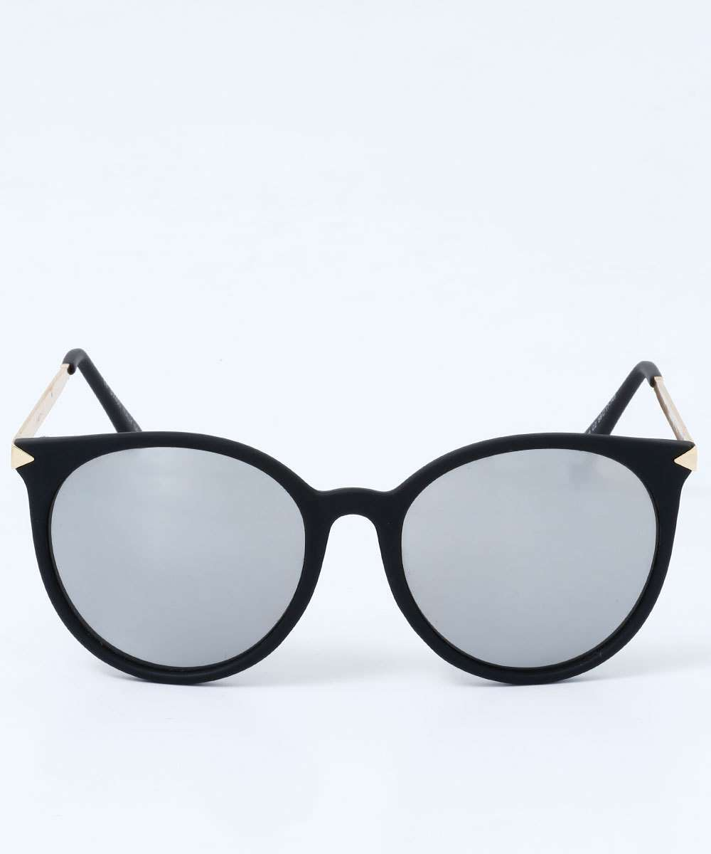 15641bb729dc3 Óculos Feminino de Sol Redondo Espelhado Marisa
