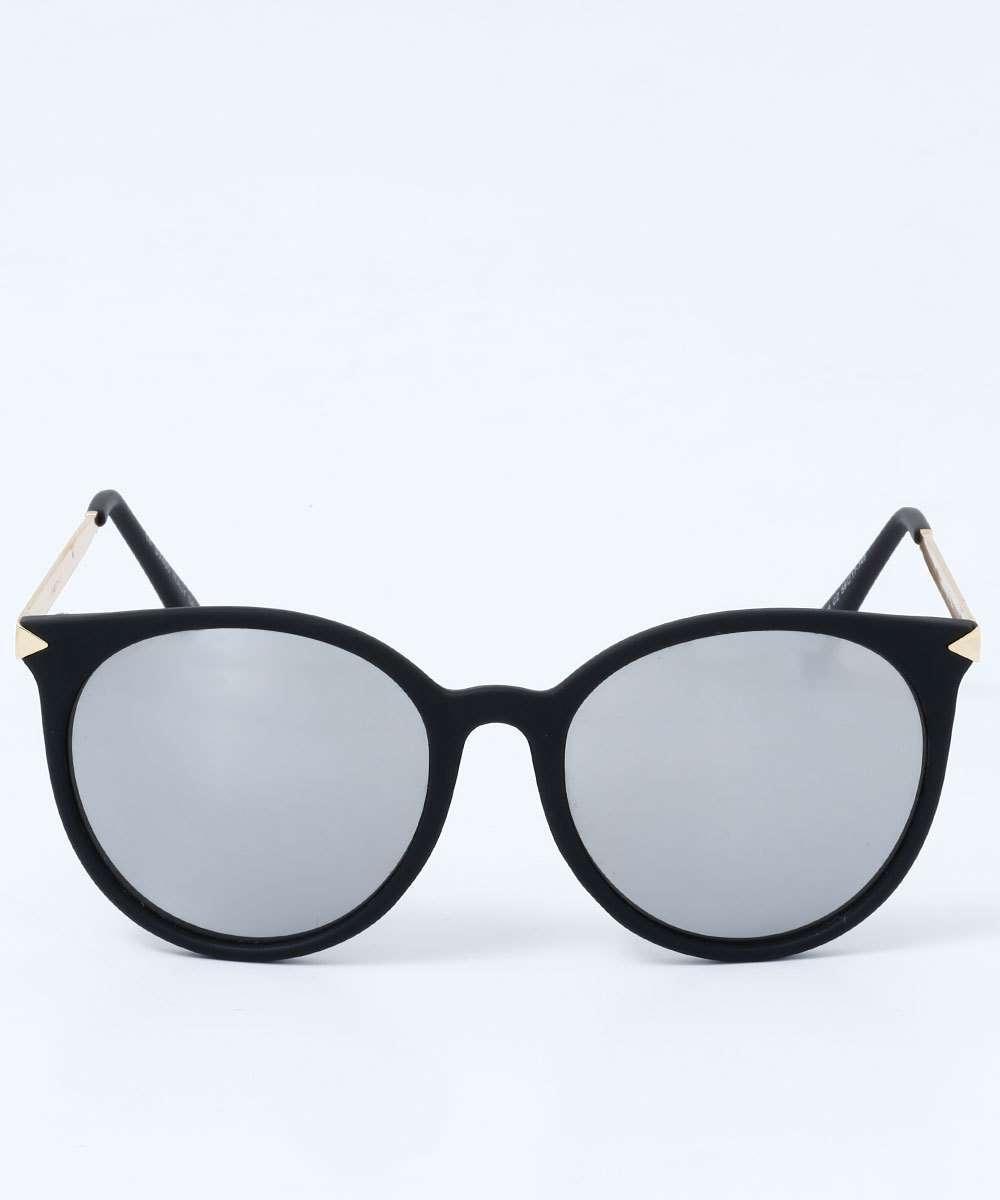 a31b3f313 Óculos Feminino de Sol Redondo Espelhado Marisa | Marisa