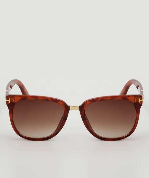 e89d90df95f94 Óculos de Sol Feminino Quadrado Marisa