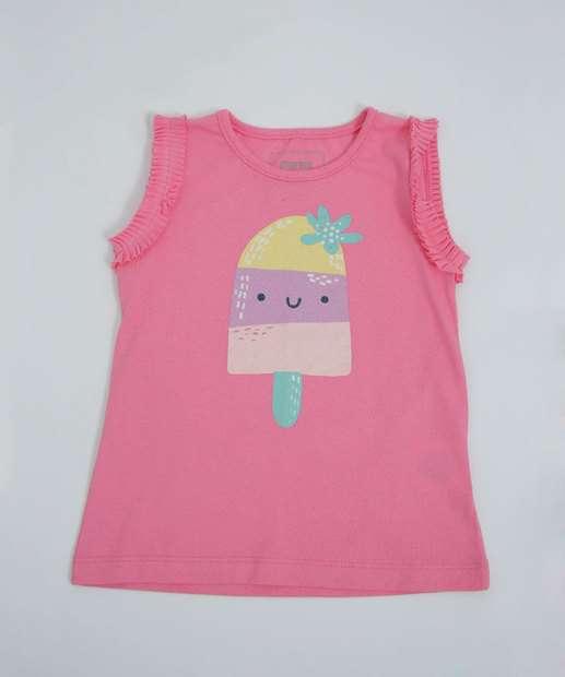 Image_Blusa Infantil Estampa Sorvete Marisa Tam 1 a 4