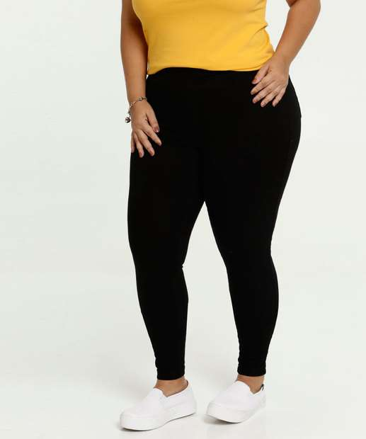 Image_Calça Feminina Skinny Bengaline Plus Size