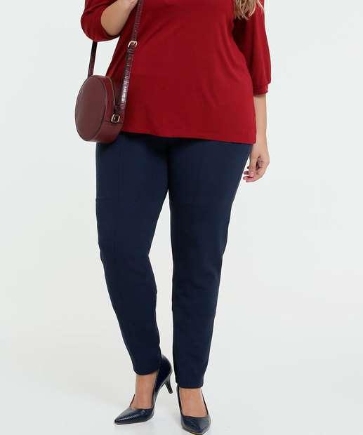 Image_Calça Feminina Legging Textura Plus Size