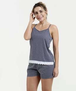 09499a10d Pijama Feminino Short Doll Alças Finas Marisa
