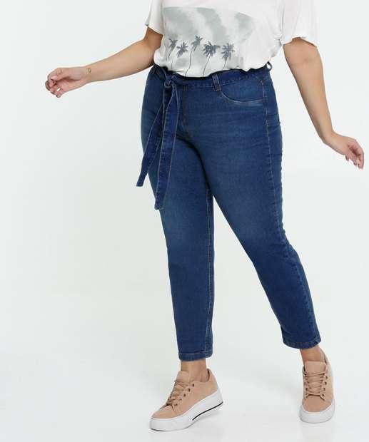 Image_Calça Clochard Jeans Feminina Plus Size