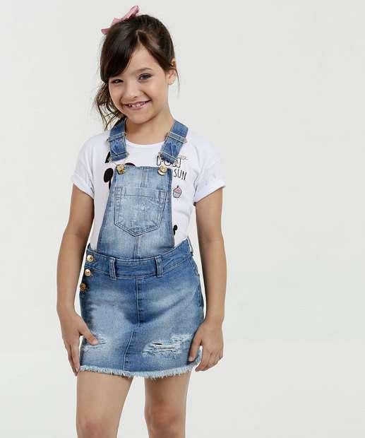 Image_Salopete Infantil Jeans Destroyed Marisa