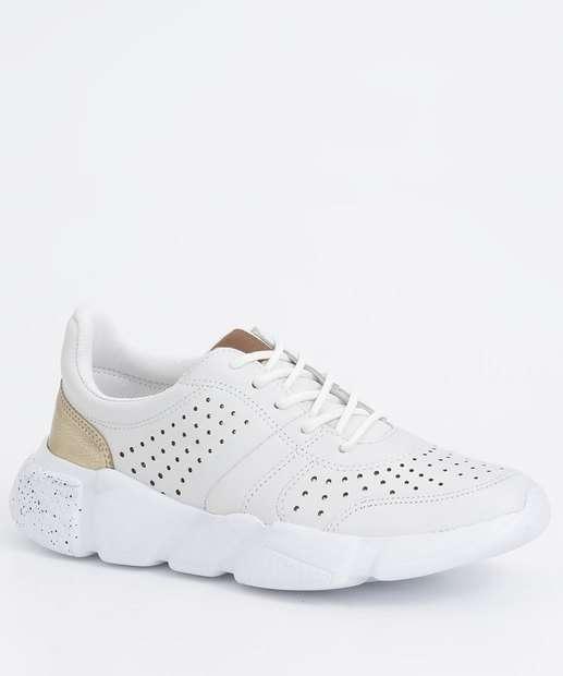 Image_Tênis Feminino Chunky Sneaker Recorte Verniz Bottero