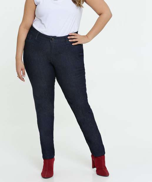 Image_Calça Jeans Skinny Feminina Plus Size Razon