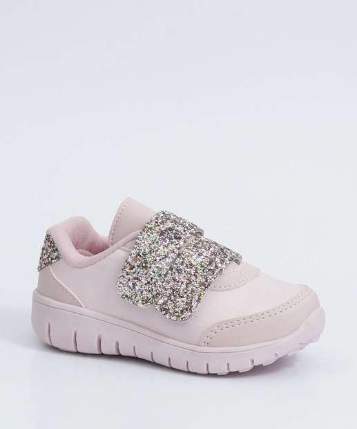 Image_Tênis Infantil Casual Glitter Velcro Marisa