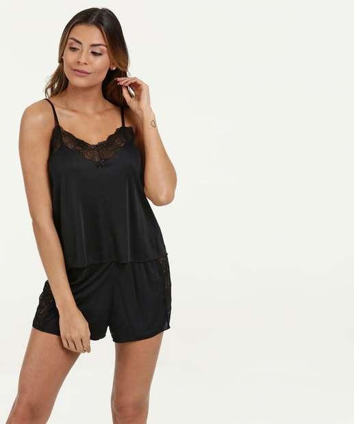 bb562b04b Pijama Feminino Short Doll Liganete Marisa