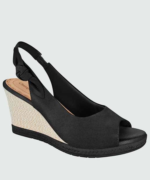Image_Peep Toe Feminino Chanel Laço Comfortflex 1853405