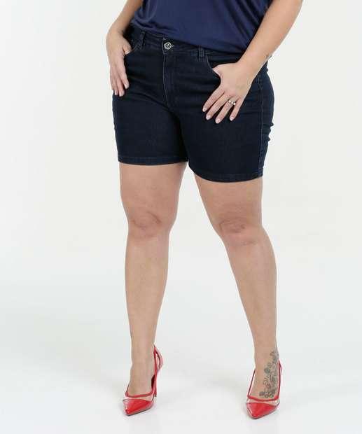 Image_Bermuda Feminina Jeans Stretch Plus Size Razon