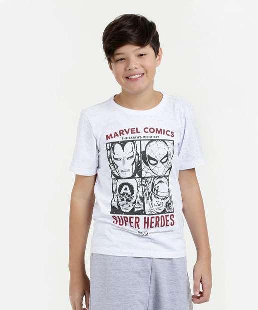 Image_Camiseta Juvenil Estampa Vingadores Manga Curta Marvel