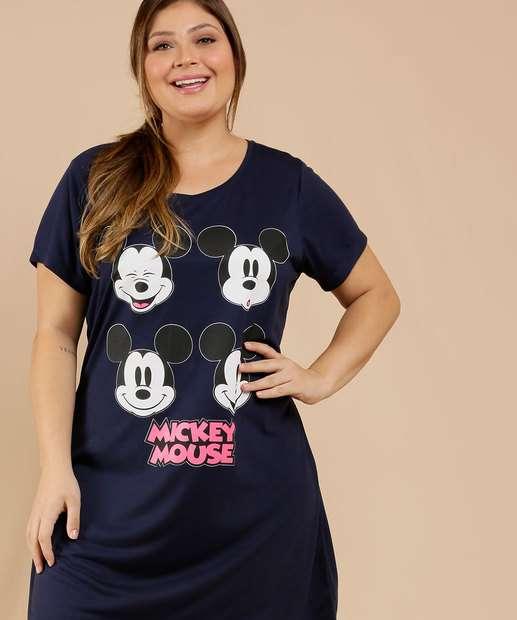 Image_Camisola Plus Size Feminina Estampa Mickey Disney